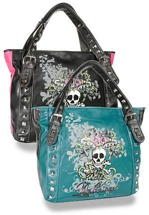Accessorize Me Pinterest Pink Black Purse And Skull