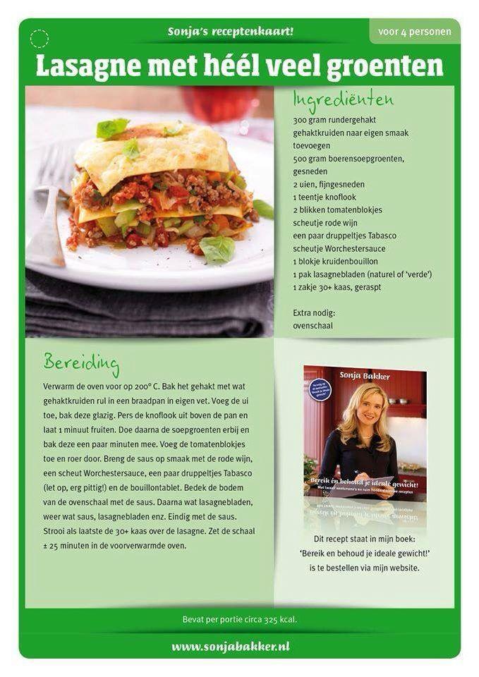 lasagne groente