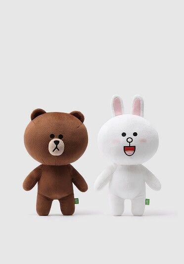Cute Teddy Bear And Love Wallpapers Download Cony And Brown Wallpaper Ponsel Anak Kucing Lucu Dan
