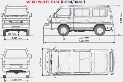 Mitsubishi L300 2005 Van Short Wheel base (With images