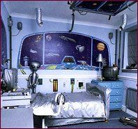 20 Kids Space Themed Bedroom Design Ideas