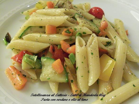 Pasta con verdure | Ricetta Primo piatto vegetariano