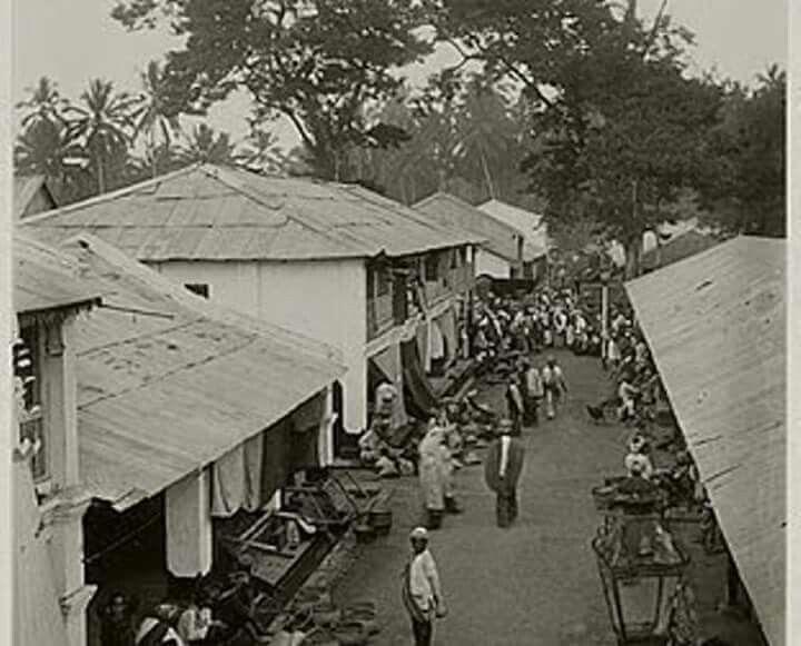 Pasar Payukumbuh, Sumatra Barat 1920