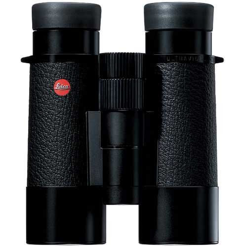 Leica 10x42 Leather Covered Binocular (Black)
