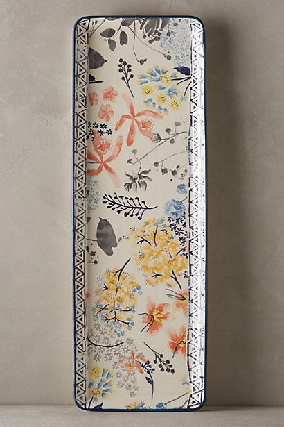 Garden Palette Serving Platter #anthropologie