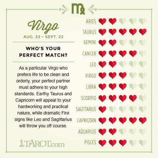 Virgo Love Compatibility