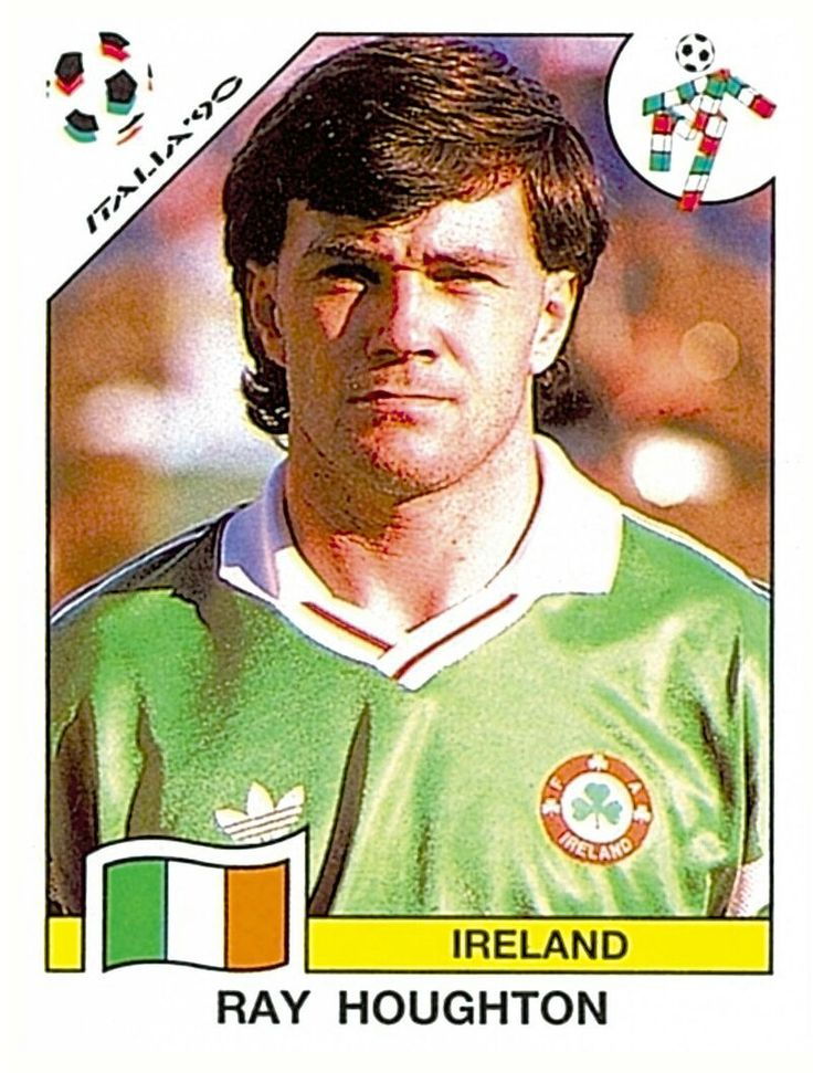 433 Ray Houghton - Group F - Ireland - FIFA World Cup Italia 1990