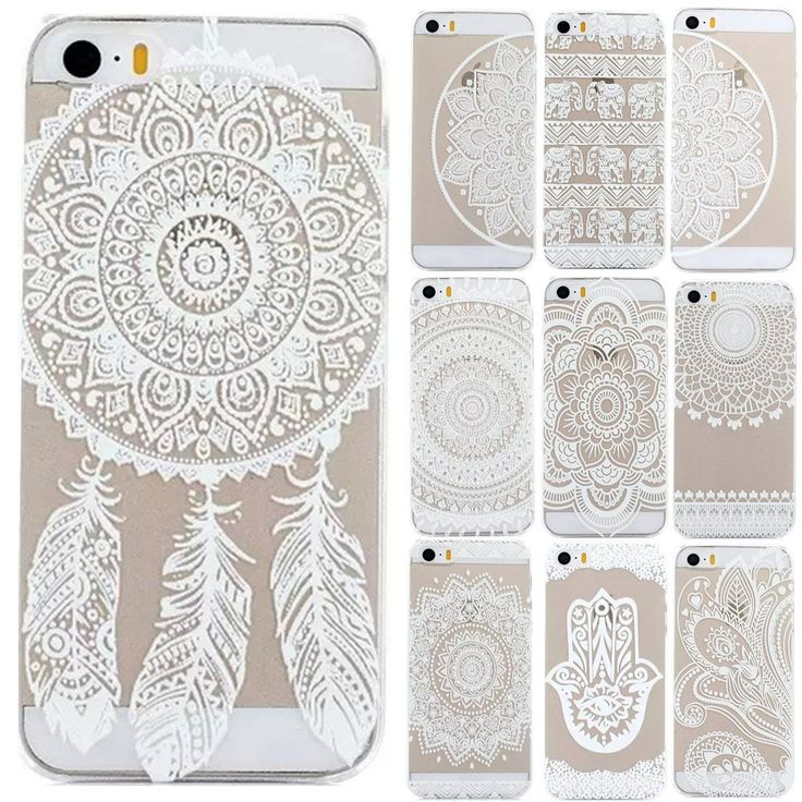 For iPhone 5s 5 Case HENNA OJIBWE DREAM CATCHER Ethnic Tribal Cover For Apple iPhone 5 5S SE Phone Back Coque Fundas