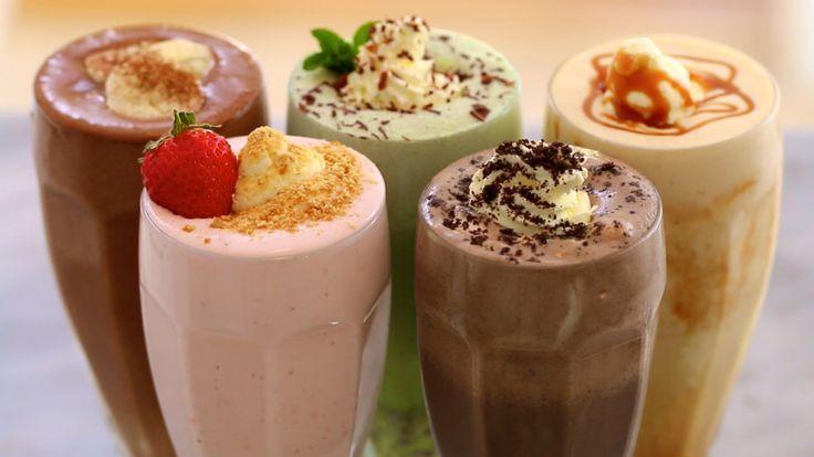 Homemade Ice Cream, Milkshakes, No Machine Ice Cream, Ice Cream, Gemma Stafford, Bigger Bolder Baking, Recipes
