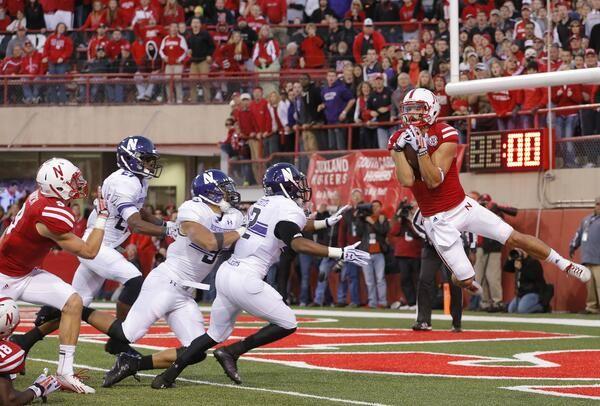 Northwestern vs. Nebraska 2013 final score: Huskers take 27-24 win on hail mary - SBNation.com
