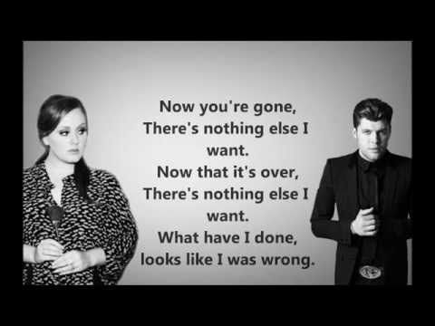 Celine Dion - Water And Flame ft. Adele - YouTube