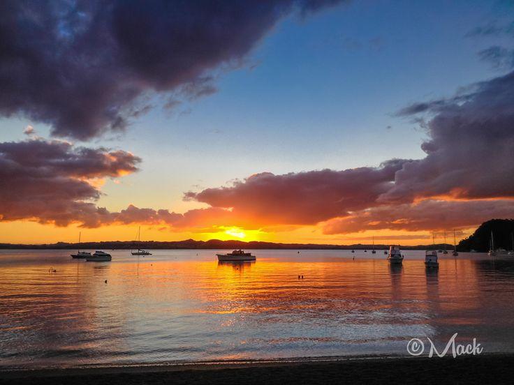 iPhone 4S - Zonsondergang @ Russel, Nieuw Zeeland