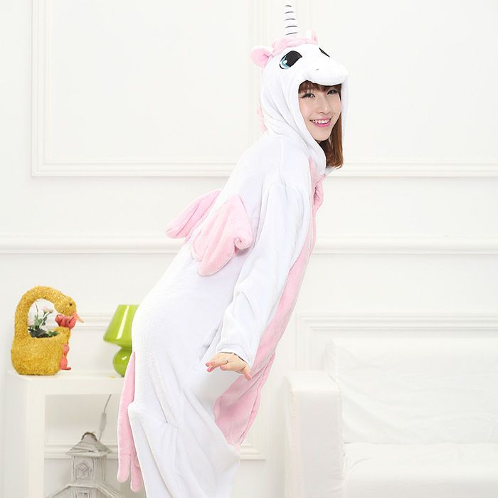 Buy Zooark Unicorn One-Piece Pajama at YesStyle.com! Quality products at remarkable prices. FREE Worldwide Shipping available!