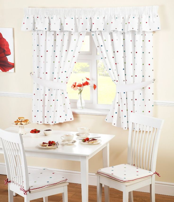 Modern Dotty Kitchen Curtains from Net Curtains Direct Photo - Amazing curtains direct Contemporary