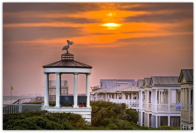 Seaside, Florida  (located in the Panhandle of Florida - east of Fort Walton).