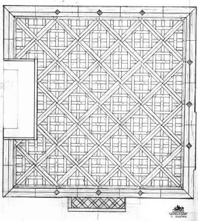 plan parquet Versailles