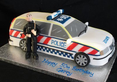 police car cakes pictures police