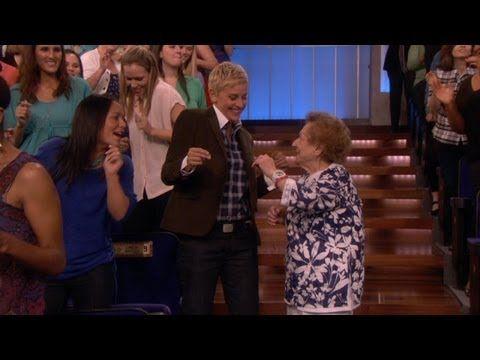Dancing Nana Meets Ellen!