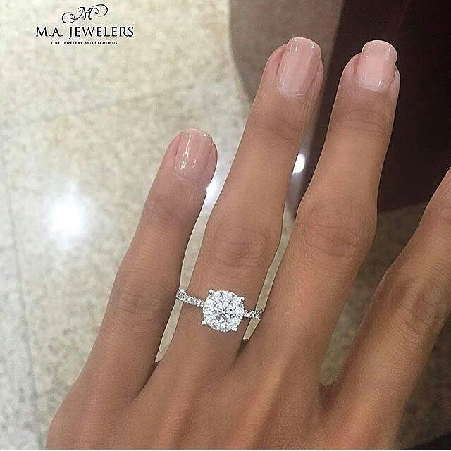 """1,899 Likes, 14 Comments - DIAMOND & JEWELERY (@jewelerypage) on Instagram: """"This is gorgeous Double tap if this is your dream ring.. . . Ring by @majewelers . .…"""""""