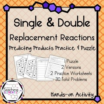 predicting the products of double replacement reactions essay Which of the following equations is balanced correctly and has the right products for the reactants na3po4 + koh - which of the following equations is balanced .