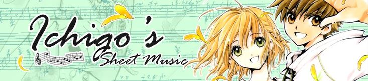 I have a student who is avidly interested in anime music.  He brought this site to my attention.  http://ichigos.com/sheets/l