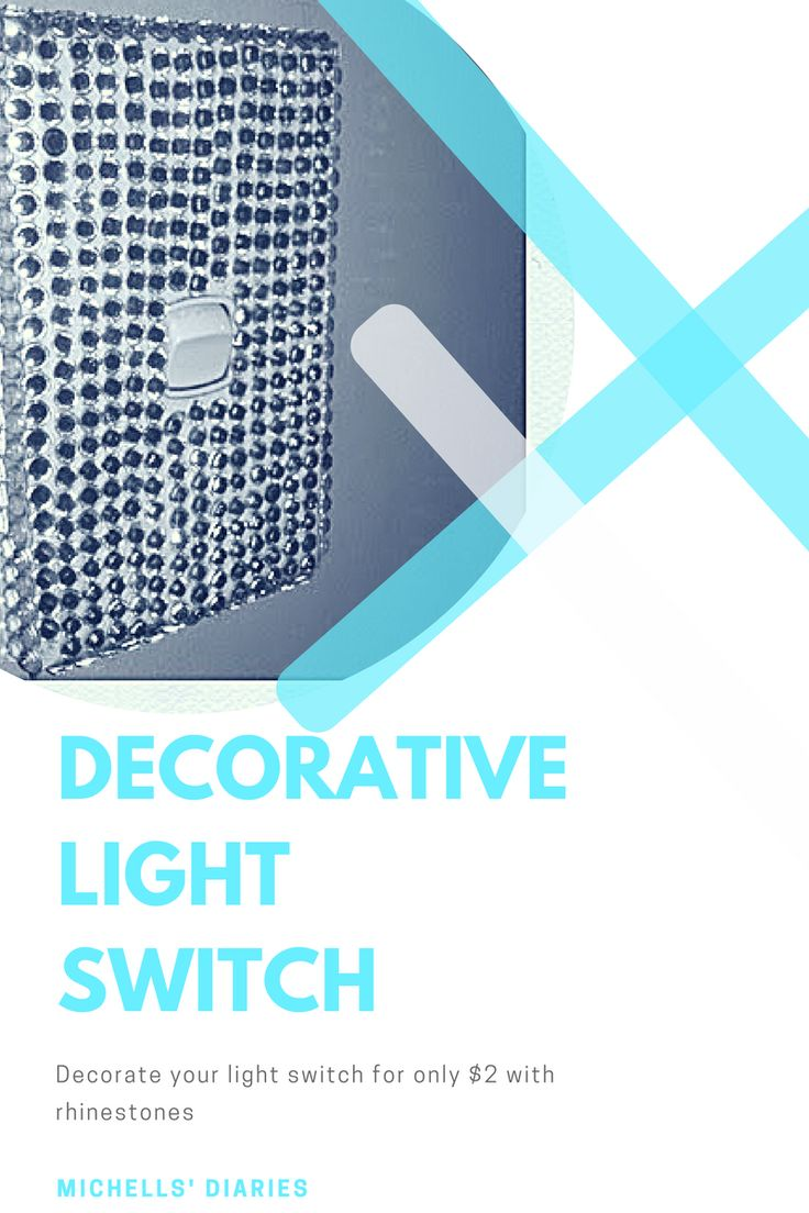 Michells' Diaries: DIY Projects, Decorate lightswitch plate