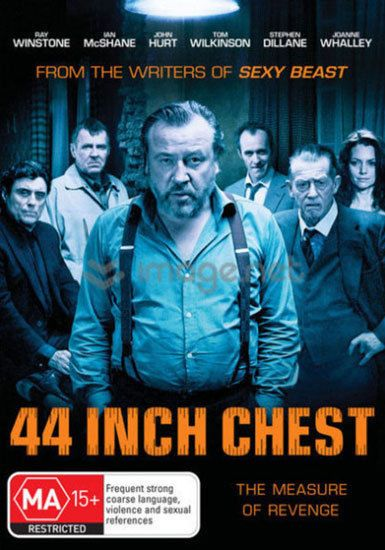 44 Inch Chest  DVD  Brand New Aus Region 4