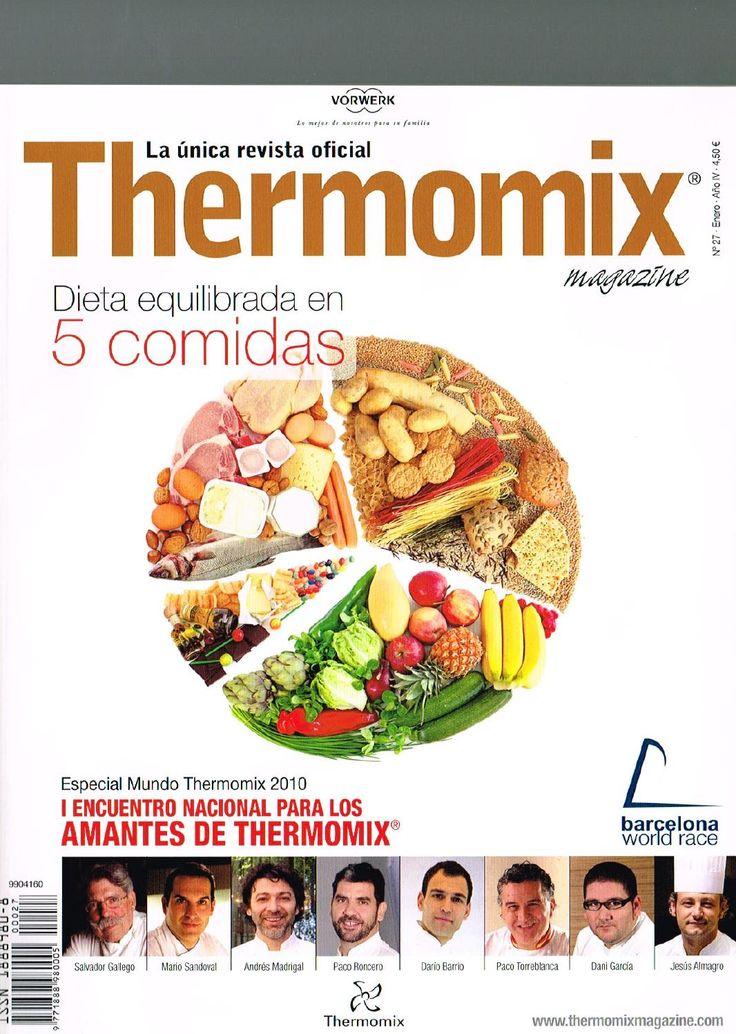Revista Thermomix nº27 Dieta equilibrada en 5 comidas