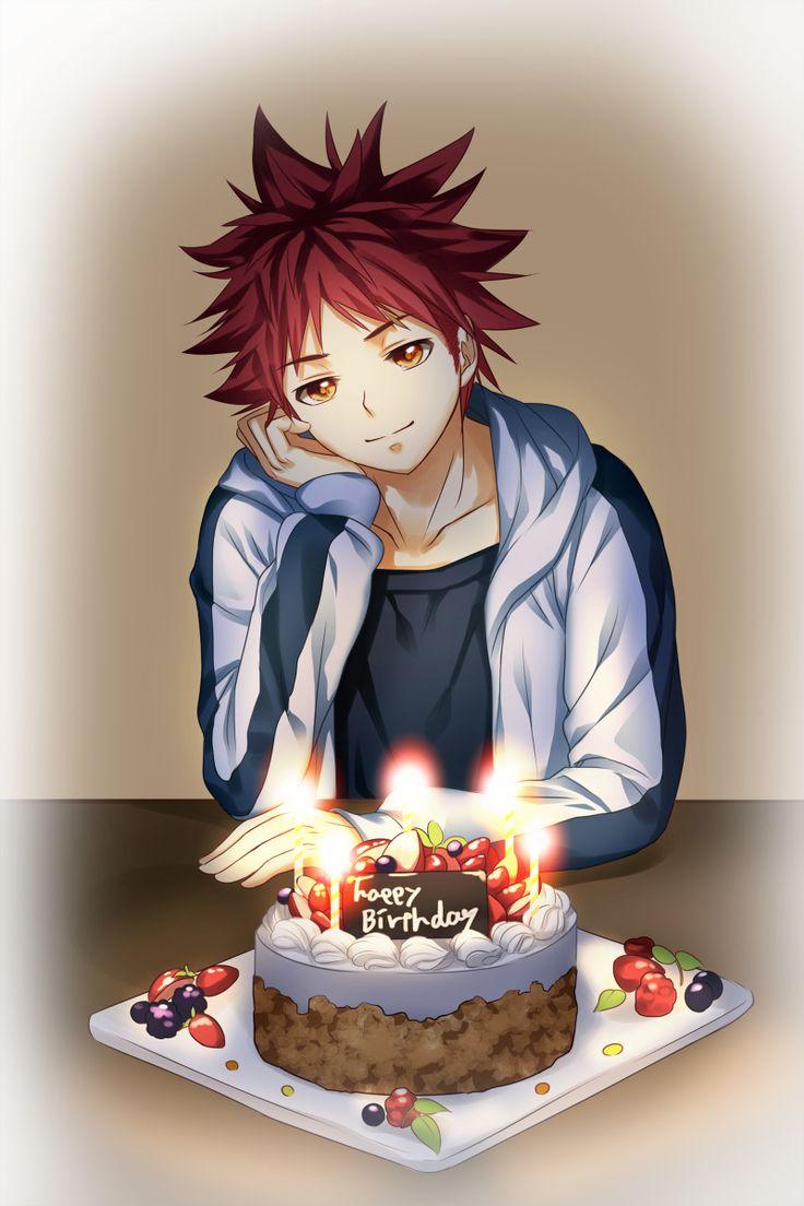 Risultato immagine per soma yukihira birthday