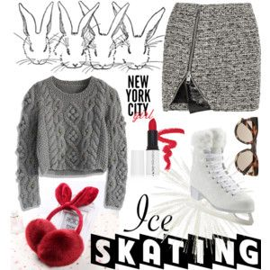 18 Adorable Ice Skating Outfits                                                                                                                                                      Más