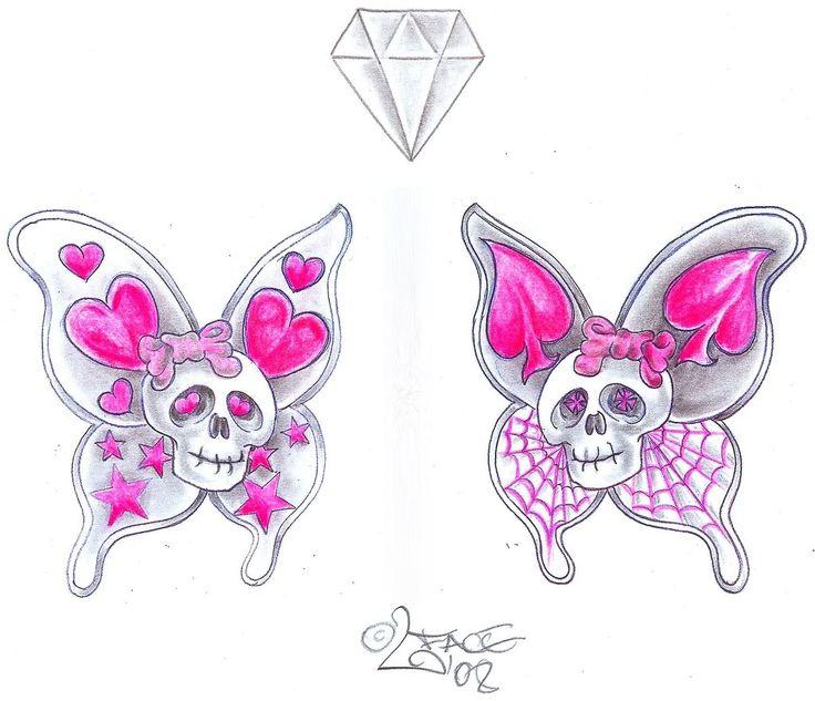 Feminine Skull Tattoo Drawings Jerusalem House