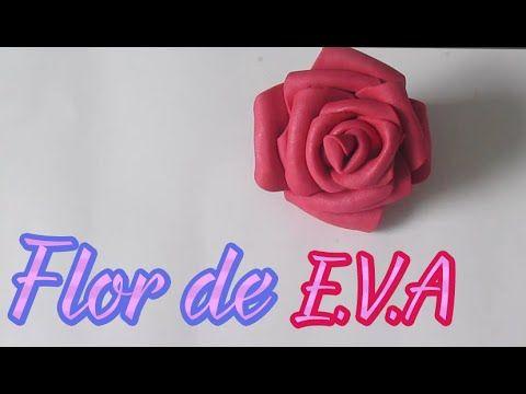 Aprenda como fazer uma linda flor de EVA, ideal para decoração e também para criar buquês de flores e buquês de casamento para as noivas, madrinhas, damas de...