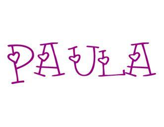vinilos Nombres: Paula