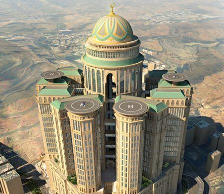 this show The Worlds Largest Hotel Located 1.6 km from the Haram Mosque by travel spot