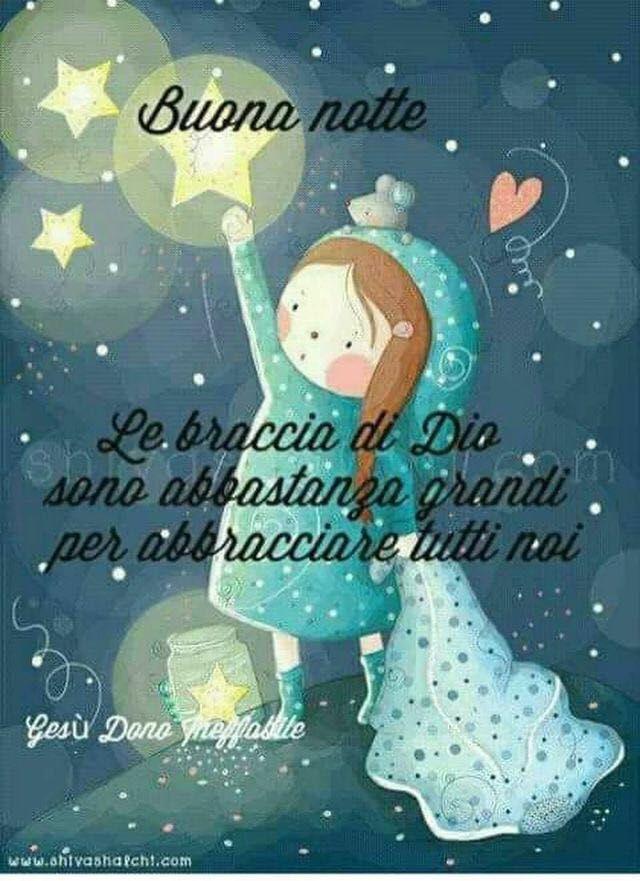 Спокойной ночи открытка на итальянском языке, папе