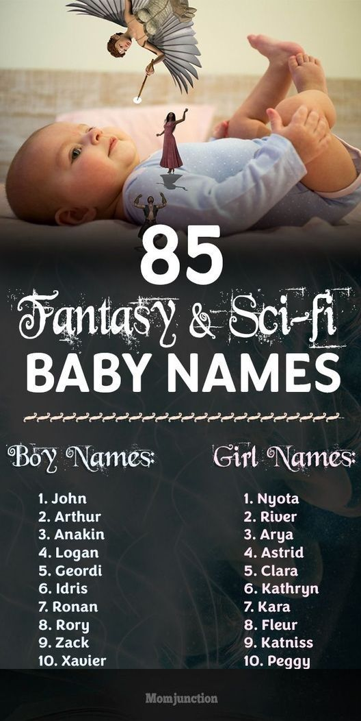 85 Fantasy And Sci-Fi #Baby #Names For Boys And Girls : Congratulations on the birth of your bundle of joy! What are you planning to call your little one? Well, if you want your little one to stand out from the rest, we'd suggest you opt for a fantasy or sci-fi baby name.