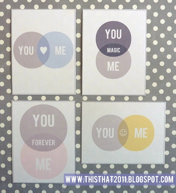 free printables for Project Life ~ LOVE these!
