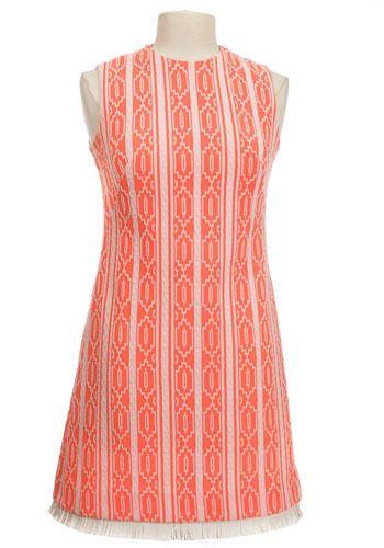 Vintage GoGo Fringe Dress