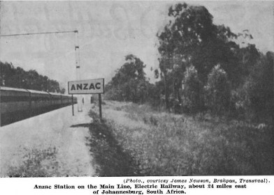 The old Anzac station towards the eastrand.