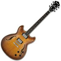 The Ibanez AS73 hollowbody electric guitar has a semi-hollow construction with the pickups mounted into a sustain block for increased sustain and less feedback. The enhanced electric performance allow http://www.comparestoreprices.co.uk/acoustic-guitars/ibanez-artcore-as73-semi-acoustic-guitar-tobacco.asp