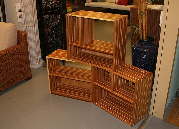 die besten 25 bambusm bel ideen auf pinterest. Black Bedroom Furniture Sets. Home Design Ideas