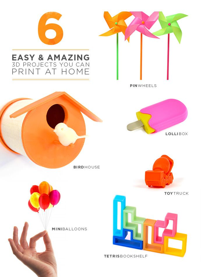 I am desperate for a 3d printer like this Derek printer: A colorful collection of fun 3D projects you can print from home