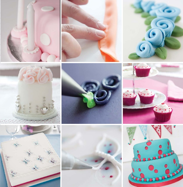 Cake Decorating Without Fondant : 25 Best images about fondant flowers on Pinterest ...