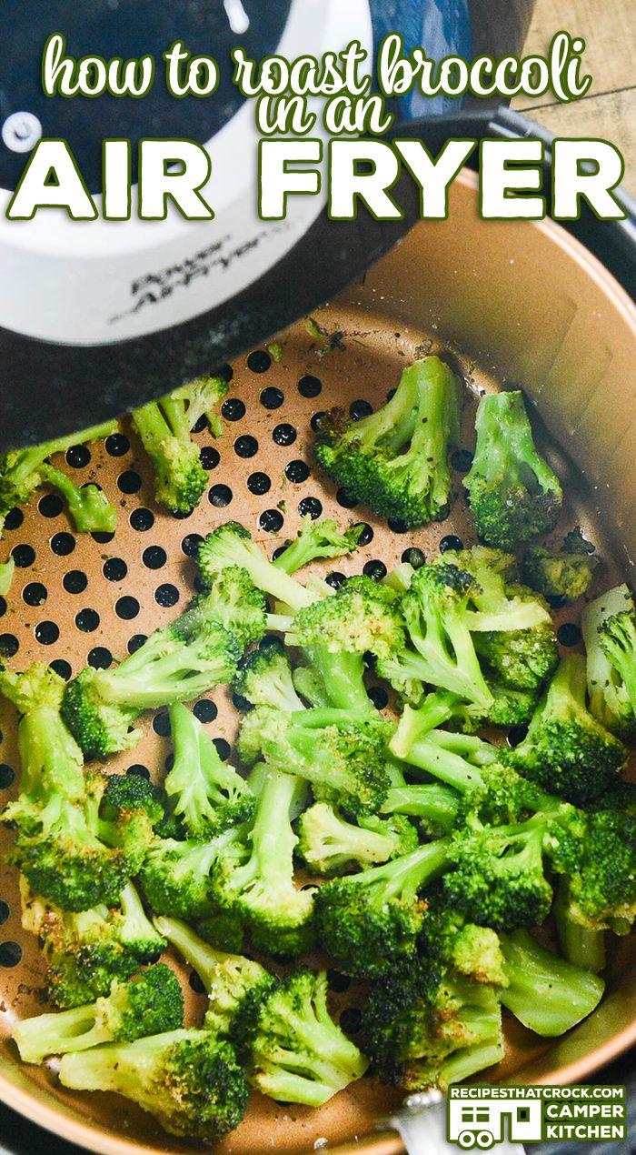 Air Fryer Broccoli Air Fryer Recipes Healthy Air Fryer Recipes Easy Air Fryer Dinner Recipes