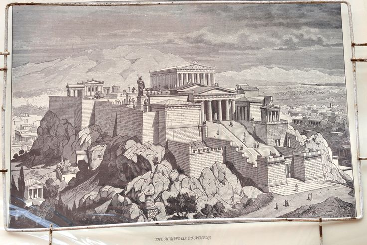 The time when Athens used to be a superpower: Akropolis
