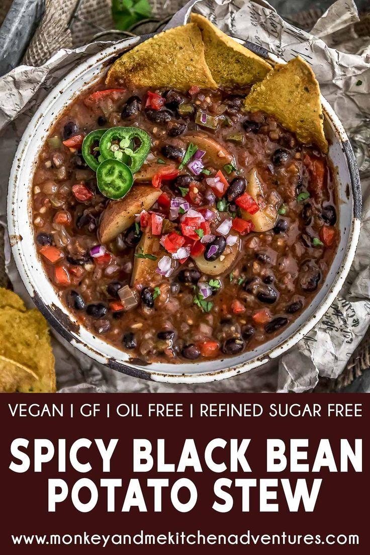 Spicy Black Bean and Potato Stew
