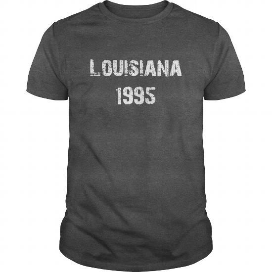 Louisiana 1995 Birth TShirt