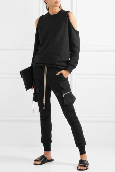 Rick Owens | Cotton tapered pants | NET-A-PORTER.COM