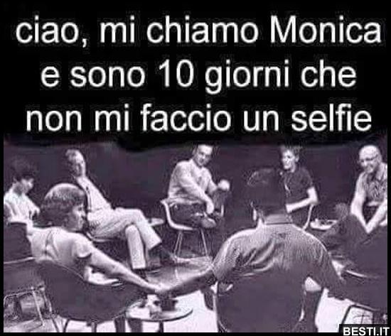 Ciao, mi chiamo Monica