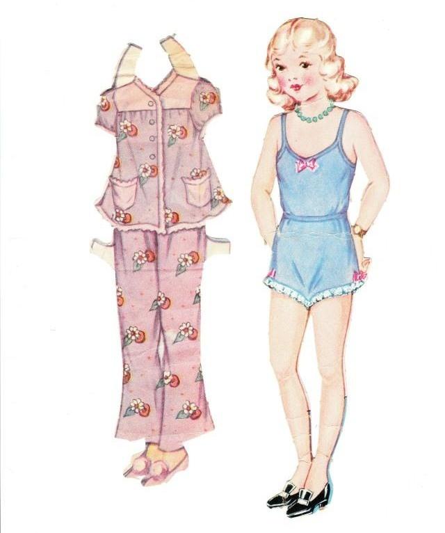 Dainty Dolls for Tiny Tots, 1946